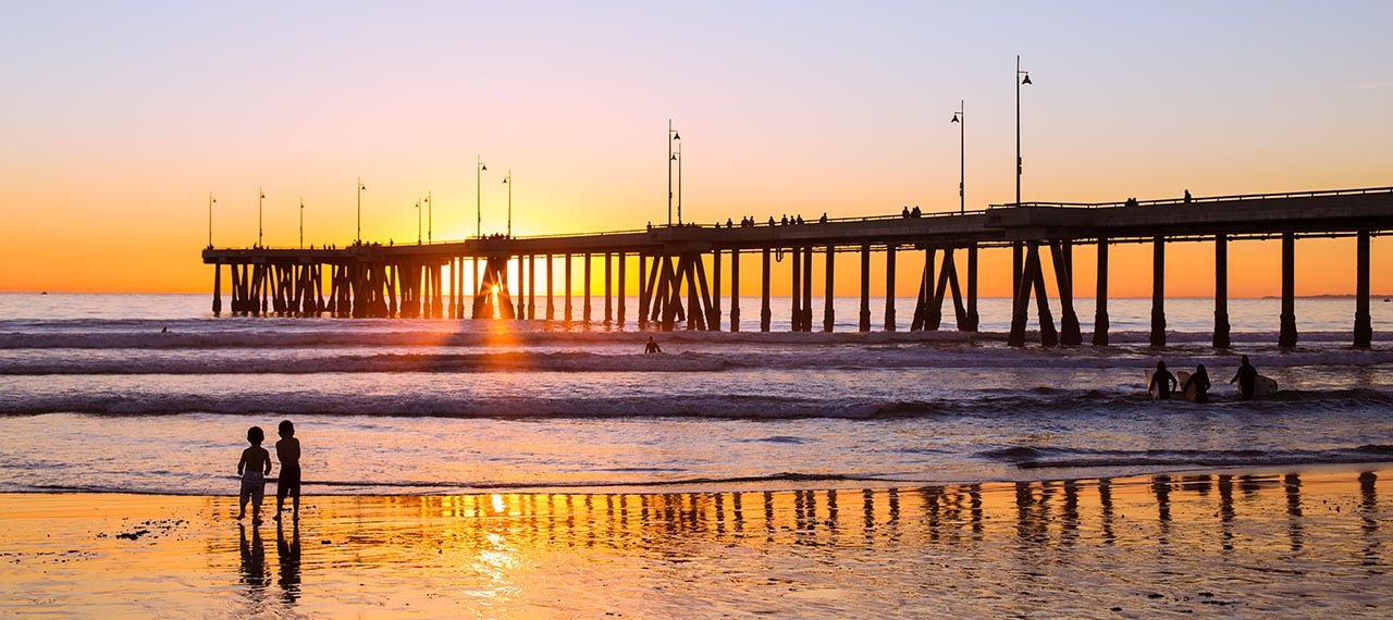 Pier in Southern California